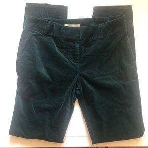 COPY - ANN TAYLOR LOFT Dark Green Straight Leg Pa…
